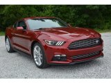 2016 Ruby Red Metallic Ford Mustang EcoBoost Coupe #113122328