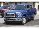 2016 Blue Flame Ford F150 XLT Regular Cab 4x4 #113122207