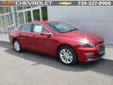 2016 Crystal Red Tintcoat Chevrolet Malibu LT #113122036