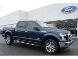2016 Blue Jeans Ford F150 XLT SuperCrew 4x4 #113122193