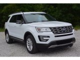 2016 Oxford White Ford Explorer XLT #113122318