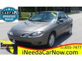 2001 Sunray Gold Metallic Ford Escort ZX2 Coupe #113121953