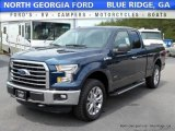 2016 Blue Jeans Ford F150 XLT SuperCab 4x4 #113121943