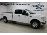 2016 Oxford White Ford F150 XLT SuperCab 4x4 #113121906