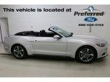 2016 Ingot Silver Metallic Ford Mustang V6 Convertible #113121881