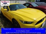 2016 Triple Yellow Tricoat Ford Mustang EcoBoost Coupe #113151738