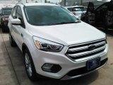 2017 White Platinum Ford Escape Titanium #113151757
