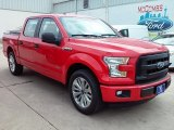 2016 Race Red Ford F150 XL SuperCrew #113172056