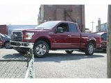 2016 Ruby Red Ford F150 XLT SuperCab 4x4 #113172111