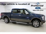 2016 Blue Jeans Ford F150 Lariat SuperCrew 4x4 #113171954