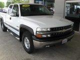 2002 Summit White Chevrolet Silverado 1500 LS Extended Cab 4x4 #113197622