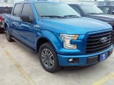2016 Blue Flame Ford F150 XLT SuperCrew #113197274