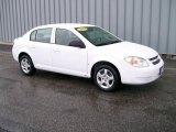 2007 Summit White Chevrolet Cobalt LS Sedan #1106978