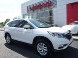 2015 White Diamond Pearl Honda CR-V EX #113197514