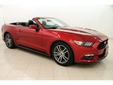 2016 Ruby Red Metallic Ford Mustang EcoBoost Premium Convertible #113197495