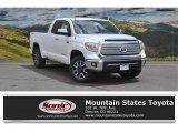 2016 Super White Toyota Tundra Limited Double Cab 4x4 #113227863