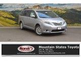2016 Silver Sky Metallic Toyota Sienna Limited AWD #113227855