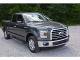 2016 Magnetic Ford F150 XLT SuperCab #113228185