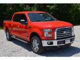 2016 Race Red Ford F150 XLT SuperCrew 4x4 #113228181