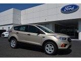 2017 White Gold Ford Escape S #113228102