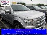 2016 Ingot Silver Ford F150 Platinum SuperCrew #113227943