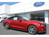 2016 Ruby Red Metallic Ford Mustang EcoBoost Premium Convertible #113228101