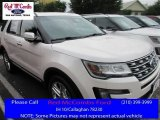 2016 White Platinum Metallic Tri-Coat Ford Explorer Limited #113227941