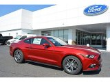 2016 Ruby Red Metallic Ford Mustang EcoBoost Coupe #113228099