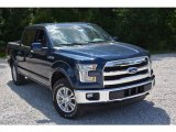 2016 Blue Jeans Ford F150 Lariat SuperCrew 4x4 #113228177