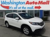 2013 White Diamond Pearl Honda CR-V EX AWD #113228030