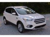 2017 White Platinum Ford Escape Titanium #113228193