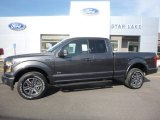 2016 Magnetic Ford F150 XLT SuperCab 4x4 #113260879