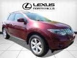 2010 Merlot Red Metallic Nissan Murano SL AWD #113260404