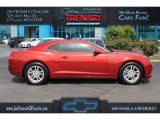 2014 Red Rock Metallic Chevrolet Camaro LS Coupe #113260511