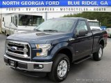 2016 Blue Jeans Ford F150 XLT Regular Cab 4x4 #113260381