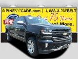 2016 Black Chevrolet Silverado 1500 LTZ Crew Cab 4x4 #113295909