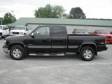 2002 Onyx Black Chevrolet Silverado 1500 LT Extended Cab 4x4 #11323052