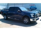 2016 Blue Jeans Ford F150 XLT SuperCrew 4x4 #113296018