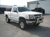 2004 Summit White Chevrolet Silverado 1500 Regular Cab 4x4 #11323042