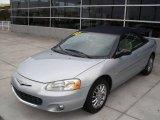 2002 Brilliant Silver Metallic Chrysler Sebring Limited Convertible #11327268