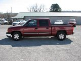 Sport Red Metallic Chevrolet Silverado 1500 in 2004