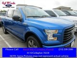 2016 Blue Flame Ford F150 XLT SuperCrew 4x4 #113295991