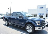 2016 Blue Jeans Ford F150 XL SuperCab #113296150