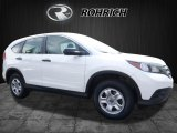 2013 White Diamond Pearl Honda CR-V LX AWD #113296081