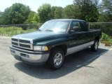 Forest Green Pearl Dodge Ram 1500 in 1999