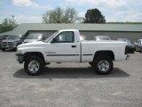 1999 Bright White Dodge Ram 1500 SLT Regular Cab 4x4 #11323034