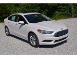 2017 White Platinum Ford Fusion SE #113296334