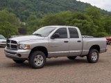 2005 Bright Silver Metallic Dodge Ram 1500 SLT Quad Cab 4x4 #11327924