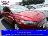 2016 Ruby Red Metallic Ford Fusion S #113330653