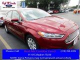 2016 Ruby Red Metallic Ford Fusion S #113330652